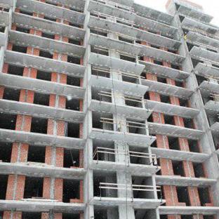 ЖК Вернисаж январь 2015 стройка дома